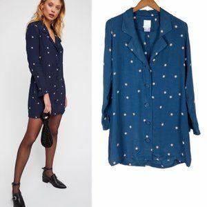 Rue Stiic Star Helena Button Front Blazer Dress